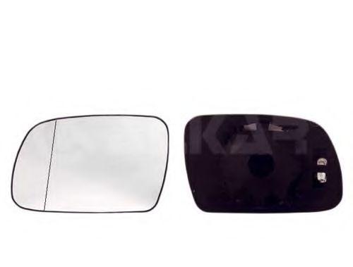 Стекло зеркала прав. с пласт. держат., с подогр., выпуклое ALKAR 6432307
