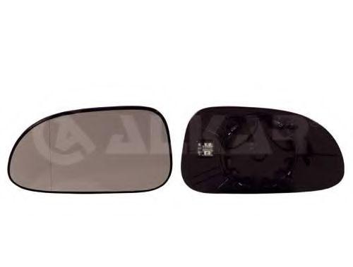 CR LAC 05- Владыш зеркала пра., обогрев., выпукл. ALKAR 6432452