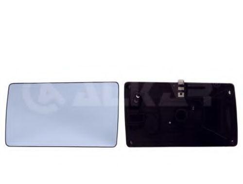 Стекло зеркала прав. с пласт. держателем, с подогревом, выпуклое ALKAR 6432542