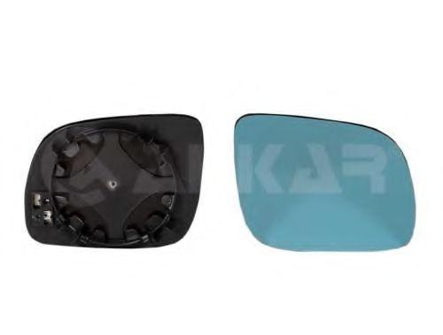 Стекло зеркала прав. с пласт. держателем ALKAR 6452500