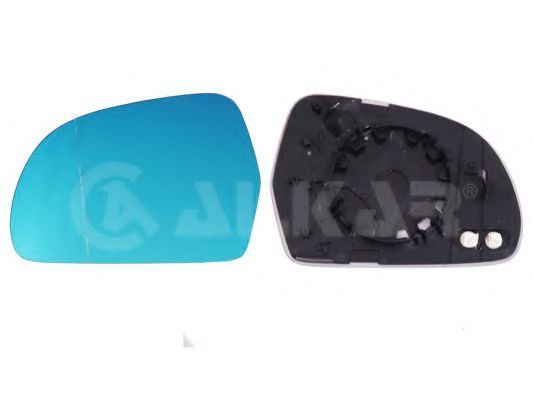 Вкладыш зеркала левый,асферич., голубое стек.,обогрев., SD[OE 1Z0857521] ALKAR 6471577