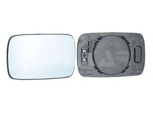 Стекло зеркала лев.+держатель, с подогревом, голубое стекло, асферическое ALKAR 6471849