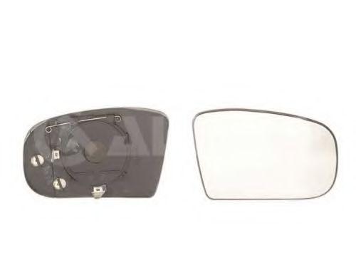 Стекло зеркала прав. с пласт. держателем, с подогревом, асферич ALKAR 6472702