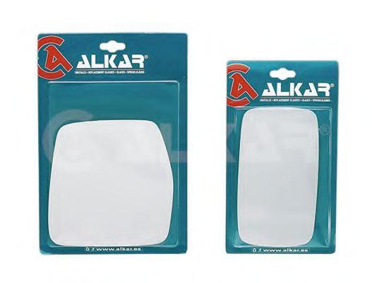 Скло дзеркала лівого, плоске ALKAR 9501550