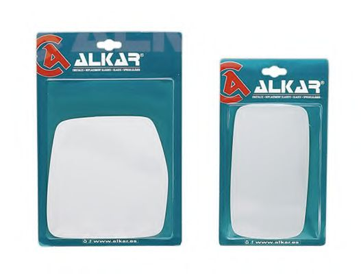 Стекло зеркала лев./ прав. , голуб.  ALKAR 9503484