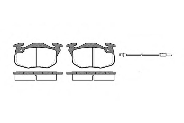 тормозные колодки C/P/R BENDIX  арт. P092312