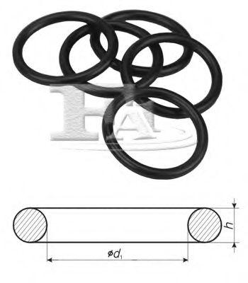 Уплотнительное кольцо/NBR 4,00 x 2,00 FISCHER арт. 754020100