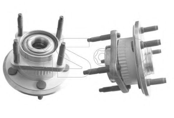 Комплект подшипника ступицы колеса  арт. 9329007