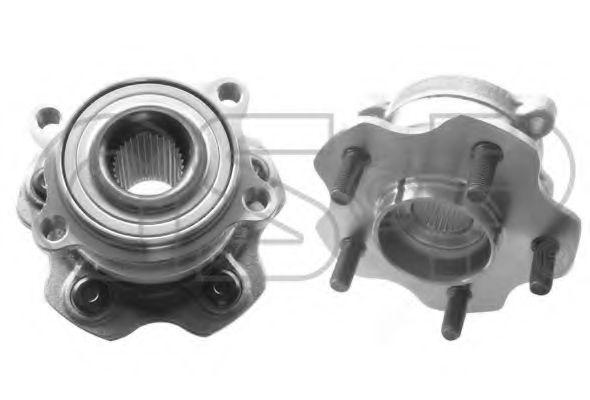9332011 GSP  -  Ступиця колеса  арт. 9332011