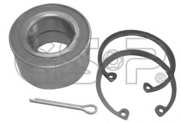 Комплект подшипника ступицы колеса  арт. GK0663