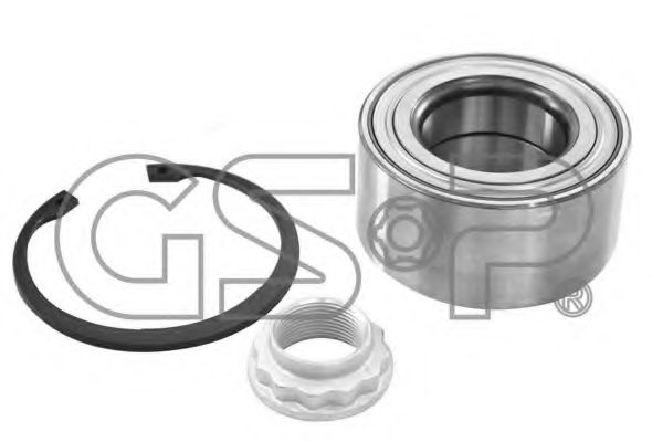 GK6632 GSP  -  Комплект підшипника ступиці  арт. GK6632