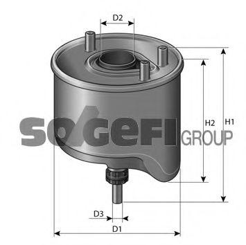 Фільтр палива PURFLUX CS762