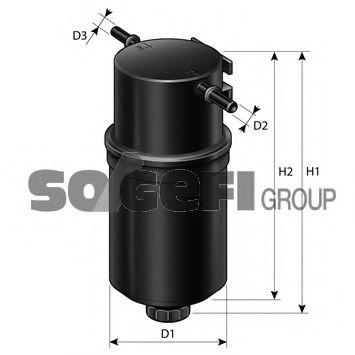 Фільтр палива PURFLUX FCS806