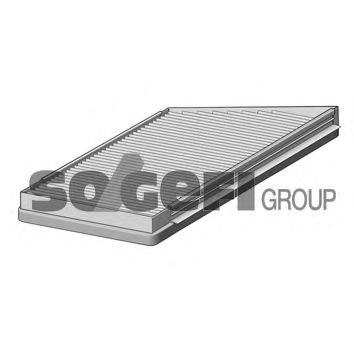 Фильтр салона с углем MERCEDES E-CLASS W211 02- PURFLUX AHC211