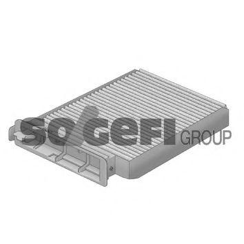 Фильтр салона NISSAN MICRA K12/NOTE 11/02-; RENAULT CLIO III/MODUS/TWINGO 04- PURFLUX AH207