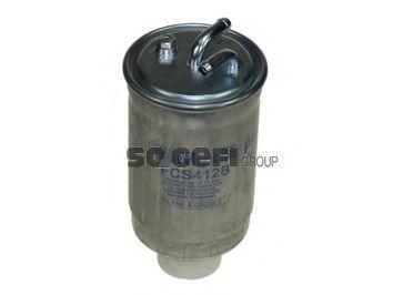 Фильтр топливный VW LT2.4D -88/T3 1.6D/TD -88/Golf II -87 (без подогр.)  арт. FCS412B