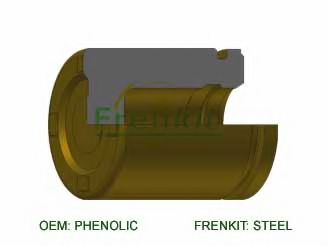 Поршень, корпус скобы тормоза  арт. P344901