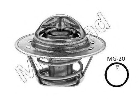Термостат Duster/Logan/Clio/Kangoo/Megane I, II, III 1,4/1.6/2.0i 98- (88 C)  арт. K30588