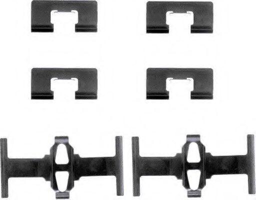 Комплектующие, колодки дискового тормоза  арт. 82028400