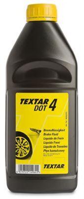 TEXTAR Тормозная жидкость DOT4 1л TEXTAR 95002200