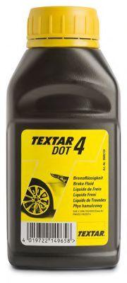 Тормозные жидкости Тормозная жидкость Textar BRAKE FLUID DOT 4 (0,25л.)  арт. 95002100