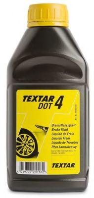TEXTAR Тормозная жидкость  DOT4 0.5л TEXTAR 95002400