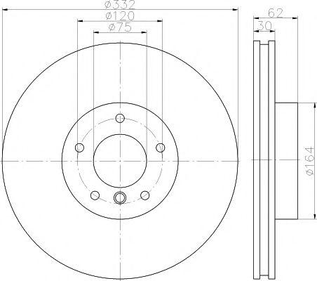 Фото - Тормозной диск TEXTAR PRO + TEXTAR - 92160805