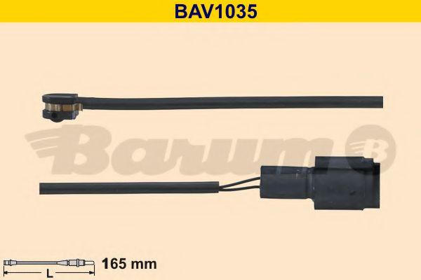 Сигнализатор, износ тормозных колодок  арт. BAV1035