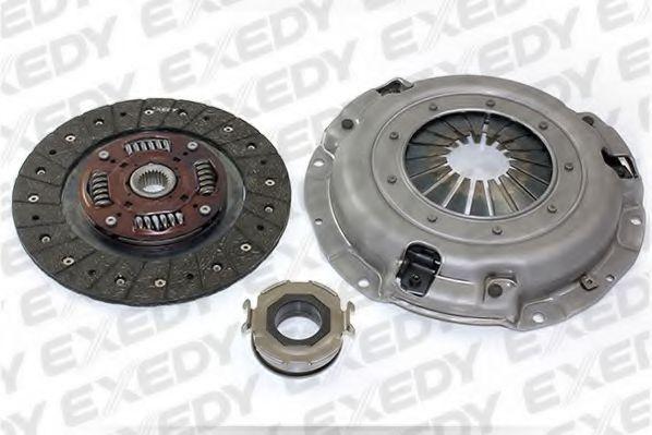 Комплект сцепления Subaru Impreza 96-/Legacy 89-99 (с выжимным) EXEDY FJK2018