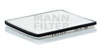 Воздушный фильтр салона MANN (без рамки)  арт. CU2431