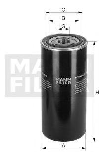 Фільтр гідравлічний КПП MANNFILTER WD7245