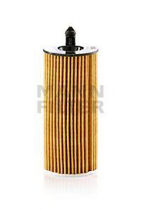 Фильтр масляный BMW 3, 5, X5 1.6-2.5 D 10- (пр-во MANN)                                               арт. HU6014Z