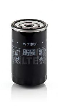 Фильтр масляный JAGUAR S, X-TYPE 2.0-3.0 99-09, LR DISCOVERY 4.0 05- (пр-во MANN)                     арт. W71936