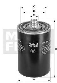 Фільтр гідравлічний КПП MANNFILTER WD9629