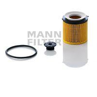 Фильтр масляный BMW 3/5/X1 11- (пр-во MANN)                                                           арт. HU8002XKIT