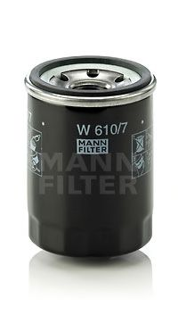 Фильтр масляный HYUNDAI I10, I20 1.1-1.2 08- (пр-во MANN)                                             арт. W6107