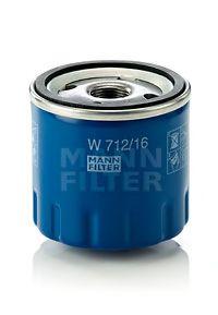 Фильтр масляный ASAM арт. W71216