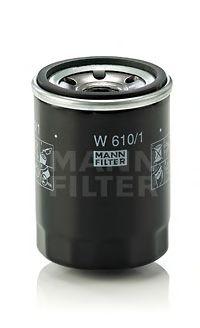 Фильтр масляный SUZUKI G VITARA 1.6-2.4 98-, SX4 1.5-1.6 06- (пр-во MANN)                             арт. W6101