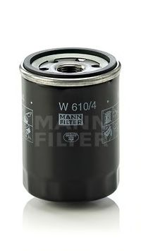 Фильтр масляный NISSAN PRIMERA I -96, MICRA II, III 92-10 (пр-во MANN)                                арт. W6104