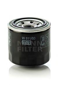 Фильтр масляный (пр-во MANN)                                                                          арт. W81180