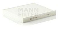 Воздушный фильтр салона MANN (без рамки)  арт. CU23009