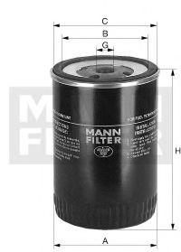 Фільтр палива MANNFILTER WK9140