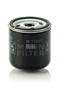 Фильтр масляный (пр-во MANN)                                                                          арт. W71221