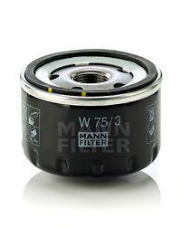 Фильтр масляный (пр-во MANN)                                                                          арт. W753