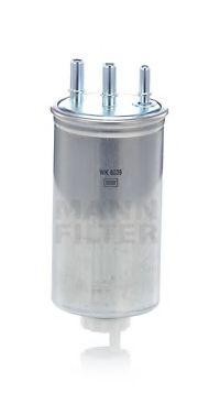Фильтр топливный DACIA LOGAN, RENAULT DUSTER 1.5 Dci 10- (пр-во MANN)                                 арт. WK8039