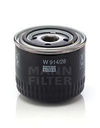 Фильтр масляный двигателя (пр-во MANN)                                                                арт. W91428