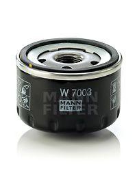 Фильтр масляный (пр-во MANN)                                                                          арт. W7003