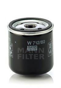 Фильтр масляный MANN  арт. W71280