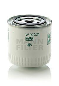 Фильтр масляный ВАЗ 2101-07, 2121-21213, 21214, 2129, 2131 (высокий 95мм) (пр-во MANN)                арт. W92021