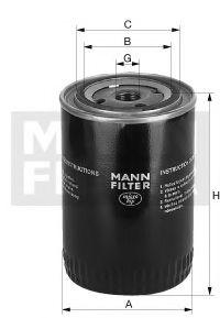 Масляный фильтр  арт. W9365